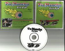 FU MANCHU Evil Eye Ultra Rare 1997 Radio PROMO DJ CD Single w/BAND PHOTO
