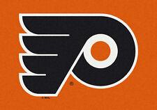 "5x8 Milliken Philadelphia Flyers Sports NHL Spirit Area Rug - Approx 5'4""x7'8"""