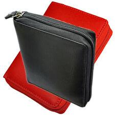 Geldbörse mit RFID-Blocker Wiener Schachtel umlaufender Reißverschluß Geldbeutel