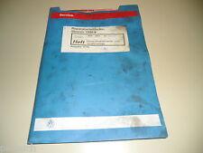 Werkstatthandbuch VW Sharan Diesel Direkteinspritzanlage Vorglühanlage 10/1996