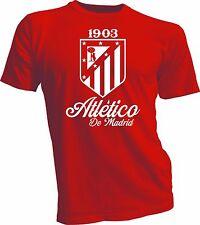 Atletico de Madrid Shirt España Spain Soccer Futbol T Shirt Camiseta La Liga red