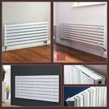 Orizzontale Bianco Designer RADIATORI OVALE tubi e pannelli piatto Riscaldamento Centrale Rad