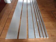 BARRA Piatta in alluminio larghezza 20,25,30,40,50,80,100,150mm Varie Lunghezza e Spessore