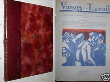 RENARD, ROELANDTS, FERN, DEMANY, STRIVAY & DELIZEE - VISAGE DU TRAVAIL - 1929