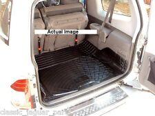Mitsubishi Shogun SWB 3 door rubber boot mat liner options & bumper protector