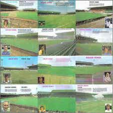 1970s Football (Soccer) Ground / Stadium Retro Picture - Various