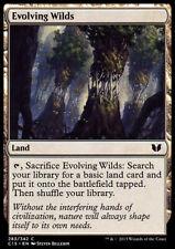 MAGIC - MTG 4X Terre Selvagge in Evoluzione / Evolving Wilds - C15
