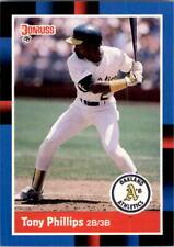 1988 Donruss Baseball #'s 221-440 +Rookies - You Pick - Buy 10+ cards FREE SHIP