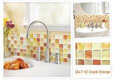 "Aluminum Mosaic Tile Home Kitchen Bathroom Backsplash Wallpaper DIY 14.8 x 5.28"""