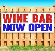 Wine Bar Now Open Advertising Vinyl Banner Flag Sign Many Sizes