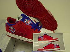 Custom Autographed 4X COLE HAMELS Nike SB Dunk PHILLIES Sneakers Shoes Sz 10.5