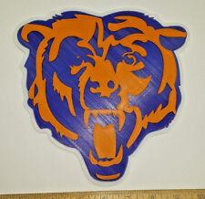 "Chicago Bears ""Bear Head"" 3D Football Logo - Emblem, Sign, Ornament or Magnet!!"