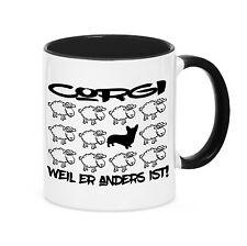 TAZZA Black Sheep-Welsh Corgi Cardigan cane pecora kaffebecher siviwonder