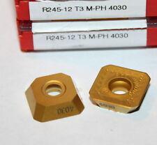 R245 12 T3 M-PH 4030 SANDVIK *** 10 INSERTS *** 1 FACTORY PACK