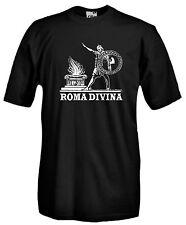 T-shirt Roma Divina A91 Maglia Cotone Colosseo Foro Impero SPQR Roma Antica