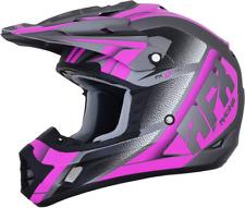 AFX FX-17 Force Helmet Gray/Purple MX Enduro Protection All Sizes