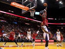 LeBron James Monster Dunk Miami Heat Basketball Sport Huge Print POSTER Affiche