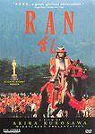 Ran (Dvd, 1998) Akira Kurosawa 1985 Action Drama Fox Lorber Very Good