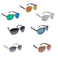 Sonnenbrille Viper für Damen Herren Pilotenbrille Aviator Holz Optik V-1294-1299