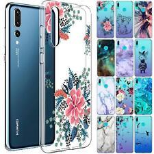 Huawei P30 Lite Motiv Handy Hülle Silikon Tasche Schutzhülle Cover Slim TPU Case