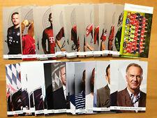 FC Bayern München Autogrammkarte 2012-13 original signiert 1 AK aussuchen