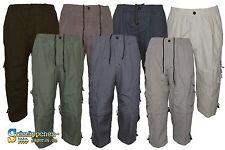 Herren 3/4lang Hose,umfunktion als Kurzhose, Zip-Off  Bermuda, Cargo short, Ql1