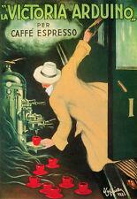 Deco La Victoria Arduino for Caffe Espresso Drink Advert A3 Art Poster Print