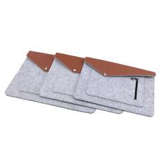 Felt Laptop Bag For Multi Sizes Case Cover Skin for Computer Notebook Sleeve D
