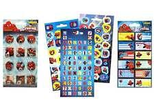 ©Marvel Spider Man Sticker Buchstaben 3D Namensschilder Scrabooking PANINI®