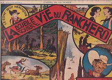 L'Appel de la Jungle n°20. Récit complet 1939. Bel état