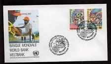 United Nations Vienna 1988 World Bank FDC