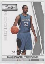 2010 Prestige 239 Lazar Hayward Minnesota Timberwolves RC Rookie Basketball Card