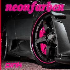 ░▒▓ NEON-PINK ▓▒░ Felgenrandaufkleber CLASSIC Felgenaufkleber Auto Motorrad