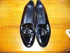 BLACK PATENT KILTE FORMAL SLIP ON SHOE 99101 Man Man Materials
