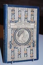 ALMANACH Hachette 1899 + supplément gratuit