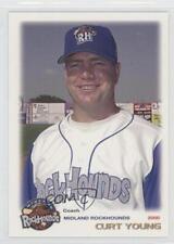 2000 Grandstand Midland RockHounds Curt Young #40