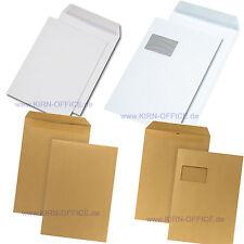 Versandtaschen C4 Umschlag Briefumschlag 229 x 324 mm  ** verschiedene Varianten
