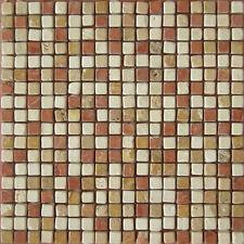 Rosone rosoni mosaici in marmo piastrelle in marmo 30x30 con tessere 1,4x1,4