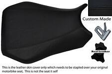 BLACK CUSTOM 98-99 FITS YAMAHA 1000 YZF R1 %100 LEATHER SEAT COVER