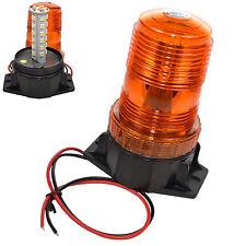 30-LED 360 Degrees 12-110V Amber Beacon Warning Light for Cushion Forklift Linde