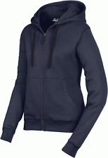 Snickers 2806 Womens Full Zip Work Hoodie Sweatshirt, Brushed Lining - NAVY BLUE