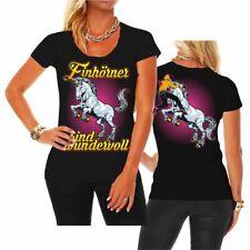 Las mujeres t-shirt unicornios son maravilloso Unicorn unicornio rosa hardcore bárbaro Fun