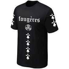 T-Shirt FOUGERES BREIZH Bretagne Breton - Maillot