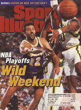 Vlade Divac--1995 Sports IIlustrated--Los Angeles Lakers