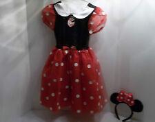 DISNEY STORE MINNIE MOUSE HALLOWEEN COSTUME SZ SM 6-6X  S dress up GIRL MICKEY