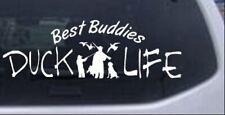 Duck Life Best Buddies Car or Truck Window Laptop Decal Sticker Dog 10X3.4