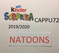Natoons- Kinder Überraschung 2019/20-SCEGLI Ihr Charakter