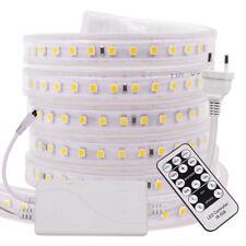LED Strip Light 220V 240V 2835 Dimmable Commercial Flexible Rope+ EU Controller