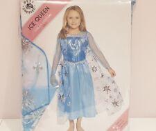 Girl's Ice Queen Fancy Dress Costume