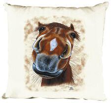 (09299) Design Coussin avec motif des chevaux ♦ SASSI ♦ Collection C. Boetzel